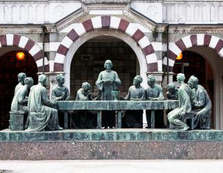 campari-grave-marker-last-supper-monumental-cemetery-milan-italy-sally-rockefeller