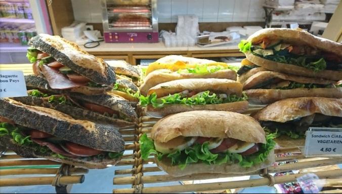 Boulangerie de Rennes sandwich