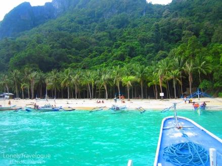 El Nido 7 commando beach