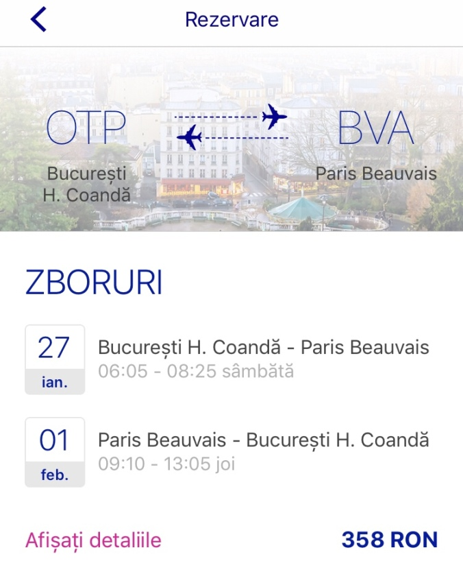 București Paris
