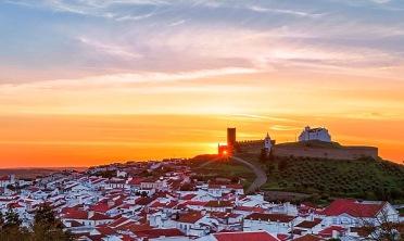Sunset, Arraiolos, Alentejo, Portugal