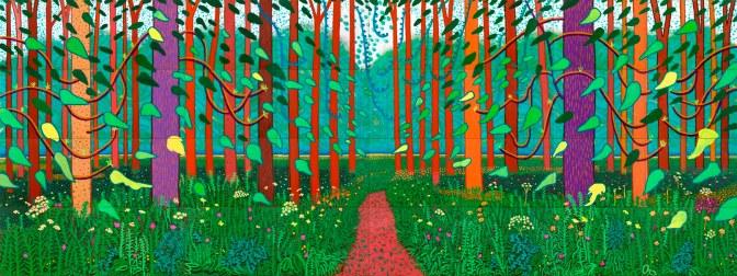 david-hockney-the-arrival-of-spring-in-woldgate-east-yorkshire-in-2011-twenty-eleven-artist